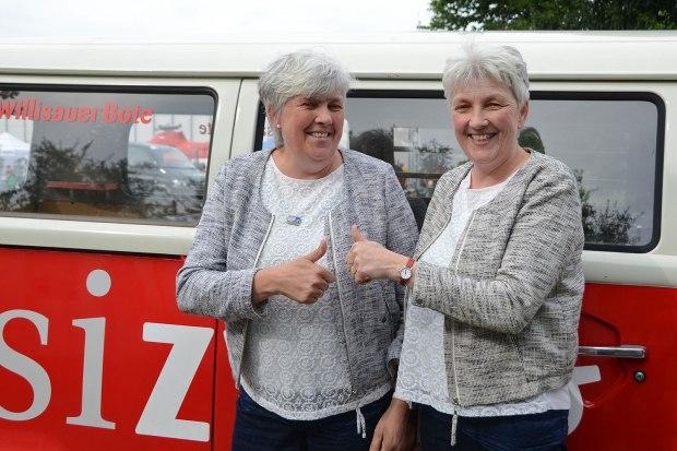 Die Zwillingsschwestern Koller